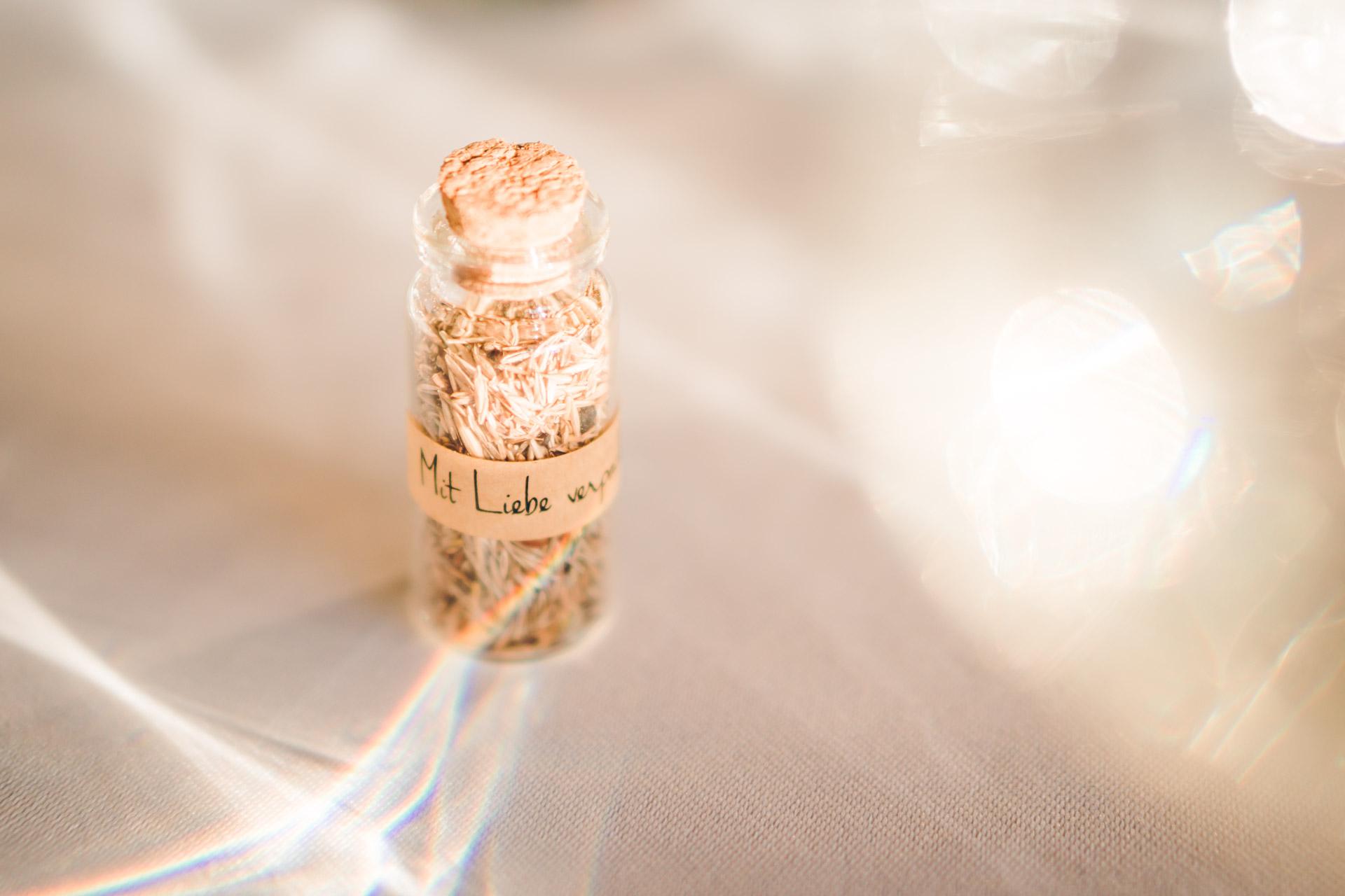 Detailshot Hochzeitsfoto