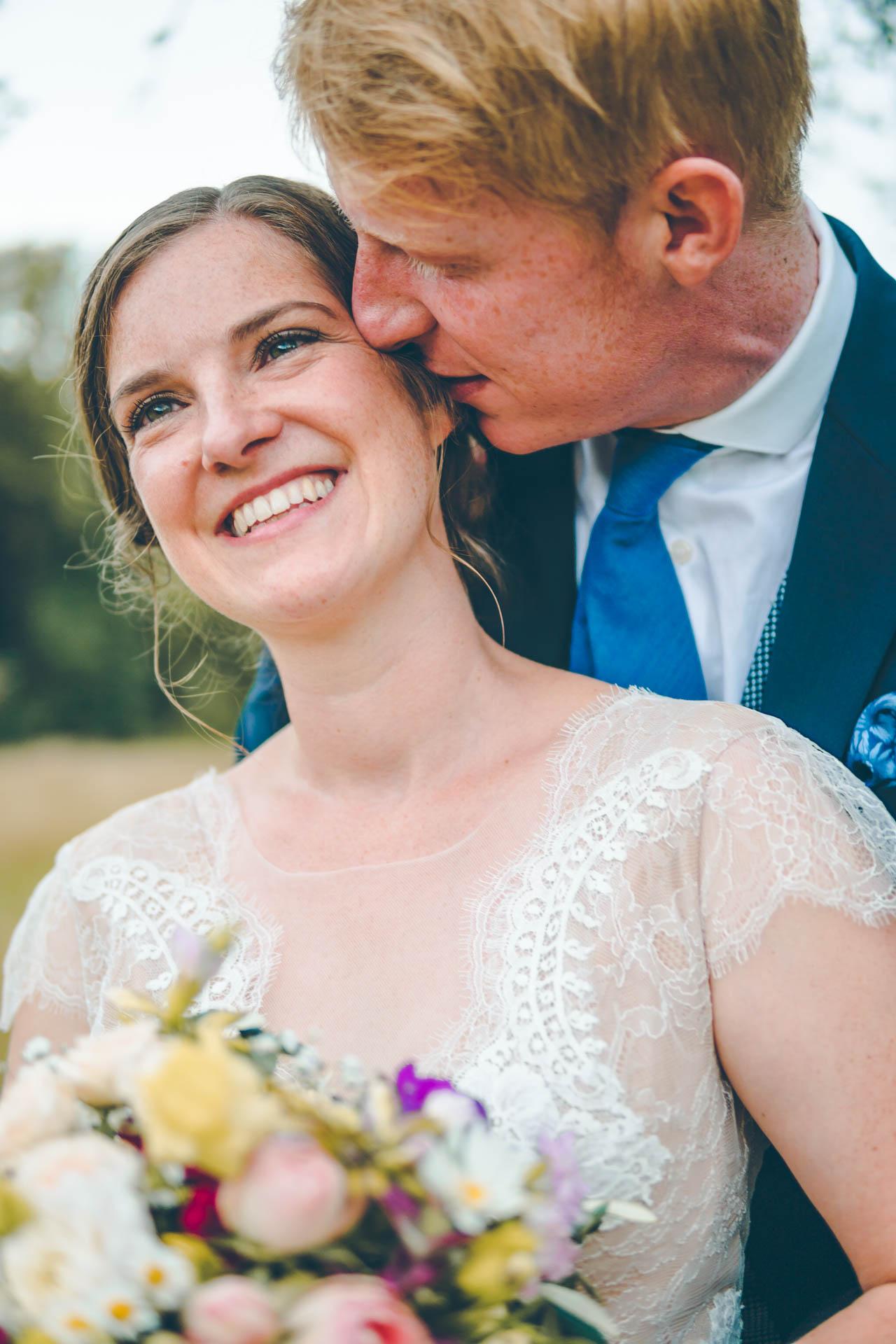 Süßes Hochzeitsbild in München