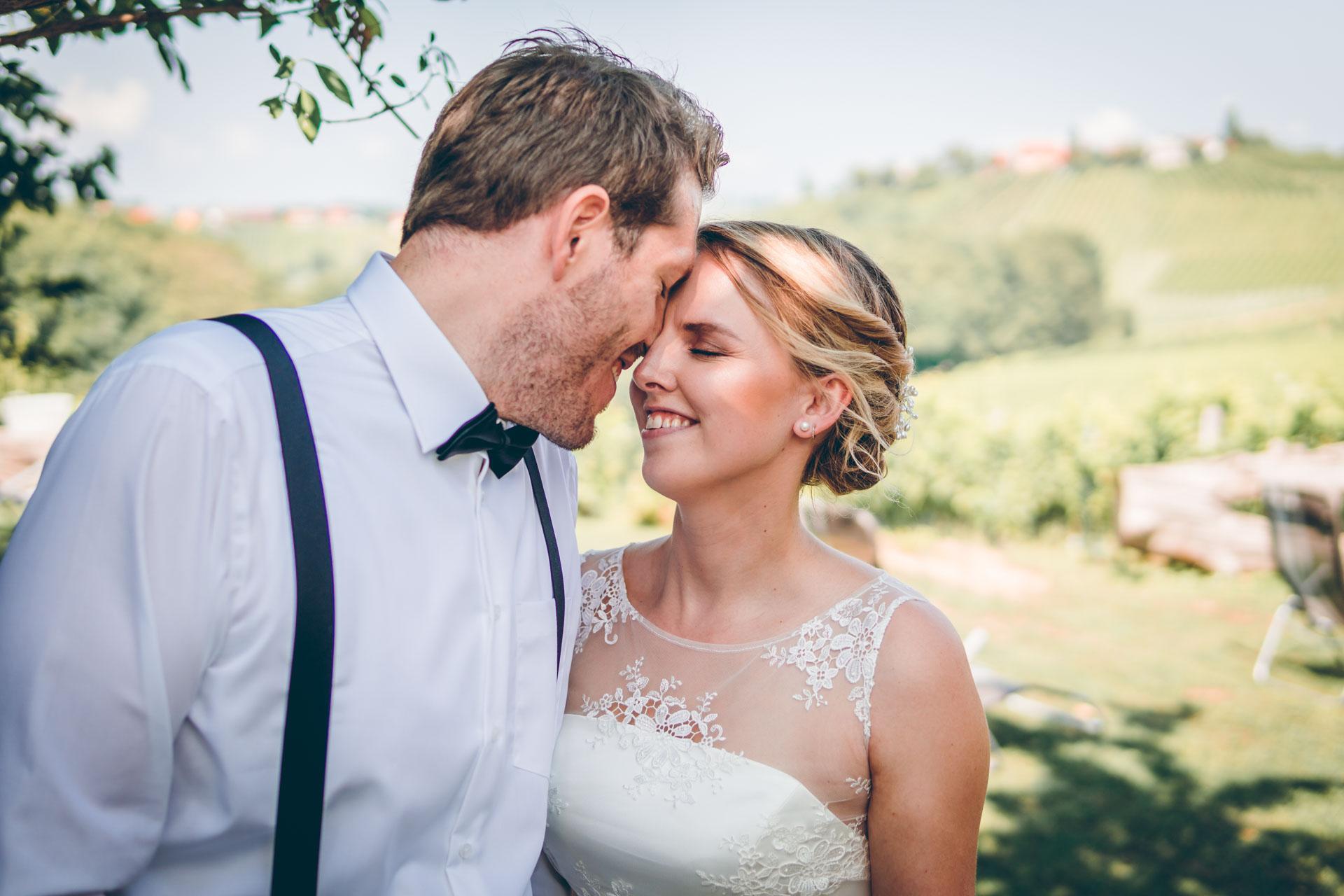 Schönstes Hochzeitsbild von Zino und Alex