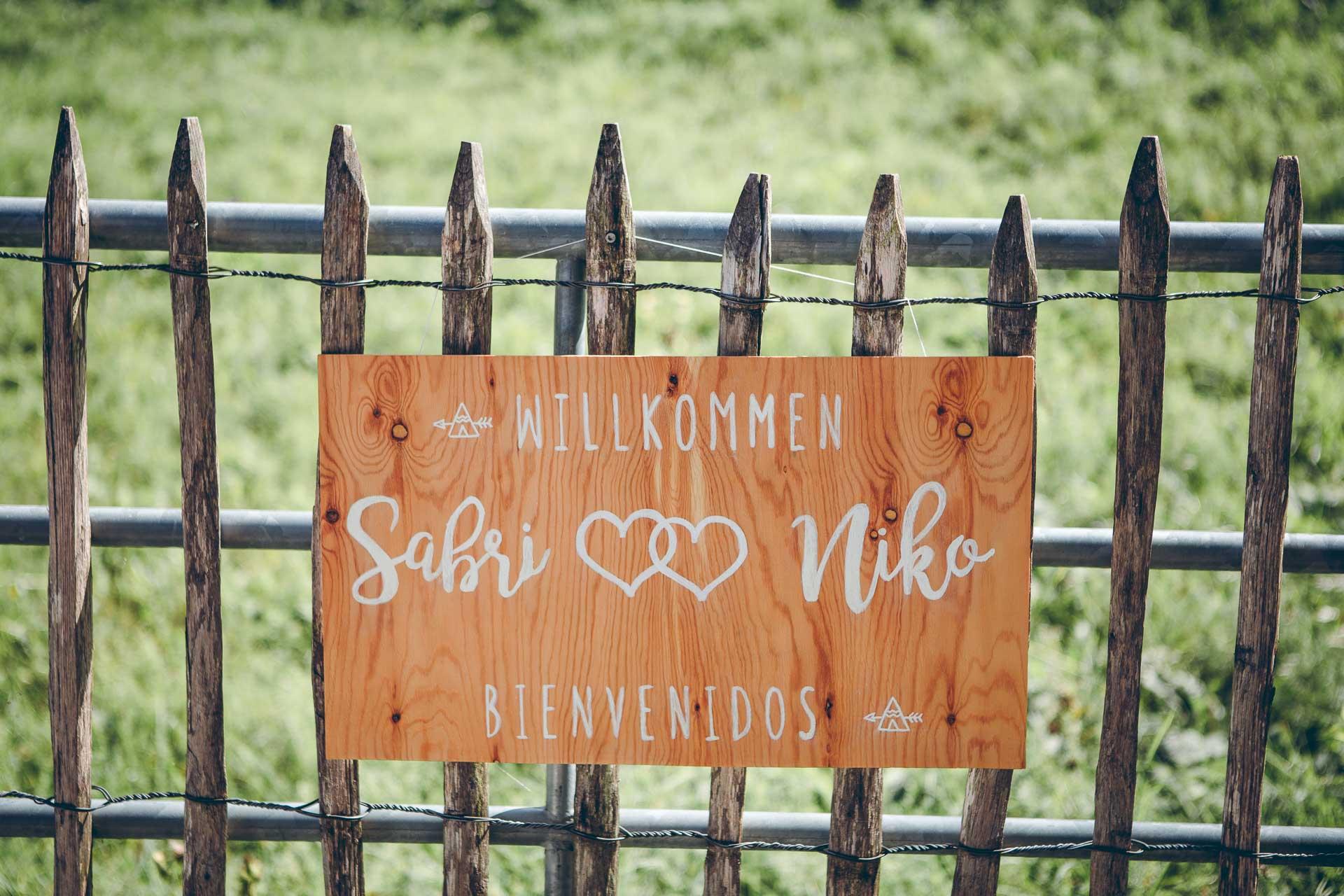 Deko auf VIntage Hochzeit im Blueland in Ohlstadt