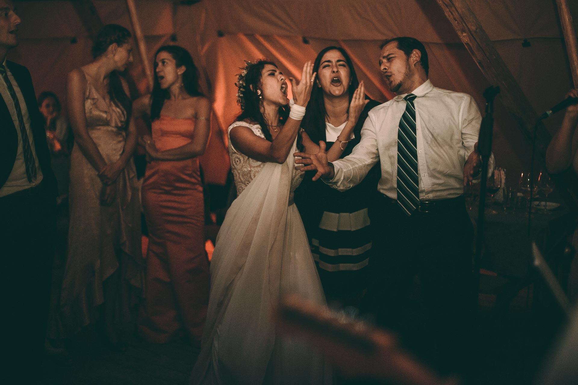 Hochzeits Party im Boho VIntage Style im Blueland
