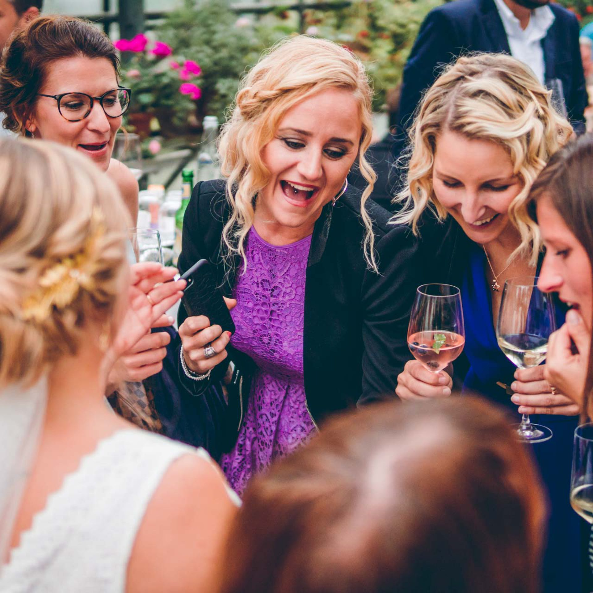Hochzeitsfeier in München