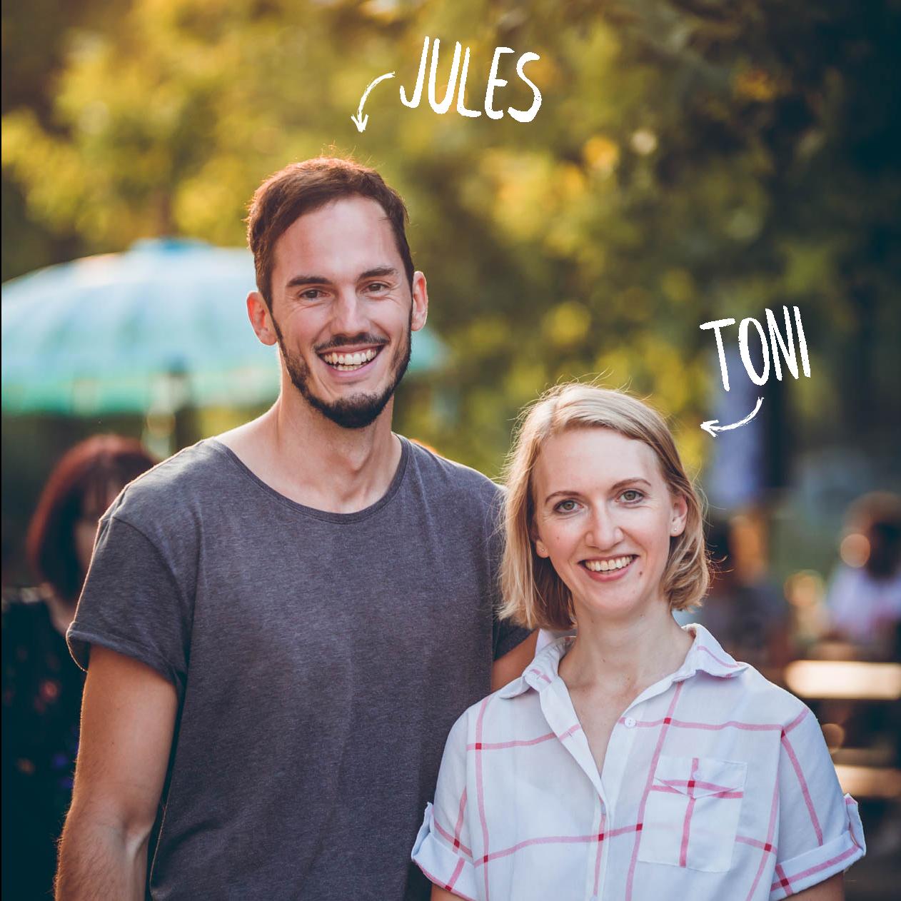 Zwei Hochzeitsfotografen aus München - Toni & Jules